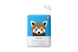 Samsung External Battery Pack 8400mAh Capri Blue Animal Edition Lesser Panda