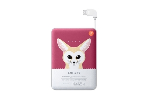 Samsung External Battery Pack 8400mAh Pink Animal Edition Fennec Fox