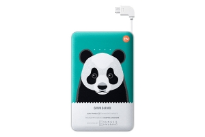 Samsung External Battery Pack 11 300 mAh Green Animal Edition Giant Panda