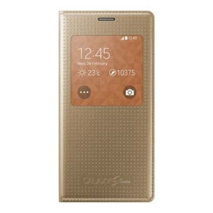 Samsung Galaxy S5,G900,S View Cover,copper GOLD