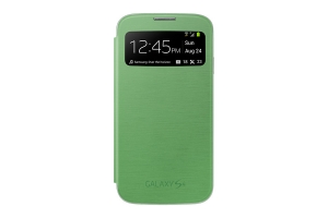 Samsung Galaxy S4,S View Cover,Yellow Green