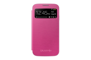 Samsung Galaxy S4,S View Cover,Pink