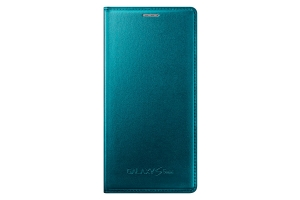 Samsung Flip Case Galaxy S5 Mini metallic green