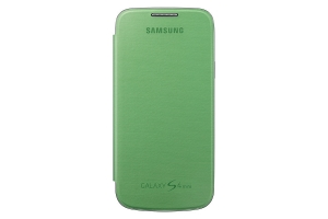 Samsung Galaxy S4 mini,Flip Cover, Yellow Green