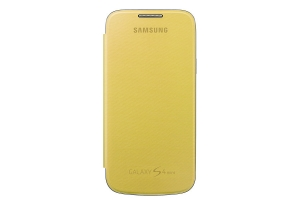 Samsung Galaxy S4 mini,Flip Cover,Yellow