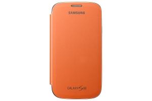Samsung Galaxy S3,Flip cover, Orange