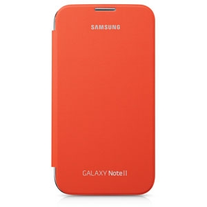 Samsung Galaxy Note 2,Flip Cover,Orange
