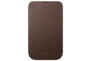Samsung Galaxy Note II,Pouch,Choco Brown