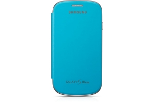 Samsung Galaxy S3 mini,Flip Cover,Light Blue