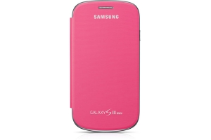 Samsung Galaxy S3 Mini, Flip Cover,Pink