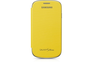 Samsung Galaxy S3 Mini,Flip Cover,Yellow
