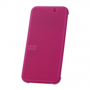 HTC Dot View™ – Premium for One M9 HC M231 Pink Hard Shell