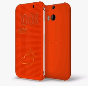 HTC One (M8)/M8s Dot View Cover HC M100 Orange