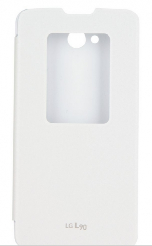 LG Quick Window Cover L90 White