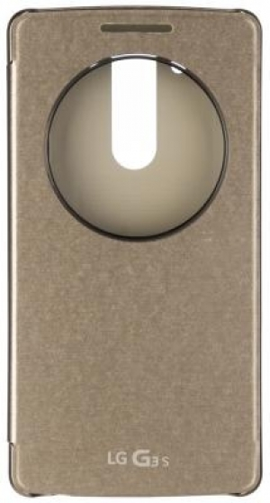 LG Quick Circle Case G3s Gold