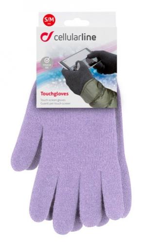 Ръкавици за капац дисплей лилави S/M 2015