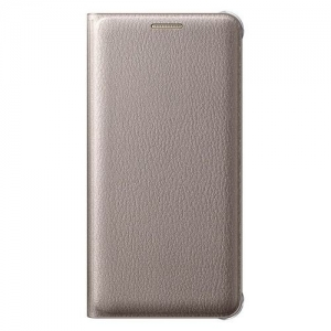 Samsung Galaxy A3 (2016), Flip Wallet, Gold