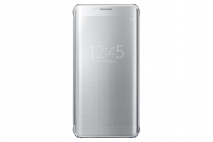 Samsung Galaxy S6 edge+, Clear View Cover,Silver