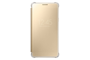 Samsung Galaxy A5 (2016), Clear View Cover,Gold
