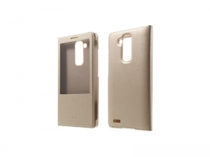 Huawei Flip Leather Case with Window  Mate 7 Champagne