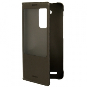 Huawei Flip Leather Case with Window Mate 7 Black