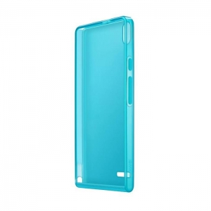 Huawei TPU Case за Ascend P6 turquoise