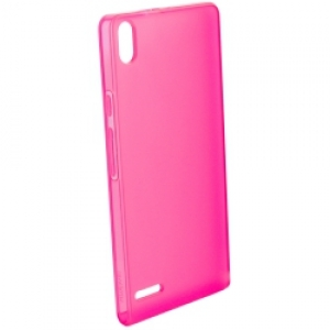 Huawei TPU Case за Ascend P6 rose pink