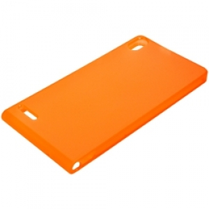Huawei TPU Case за Ascend P6 tangerine orange
