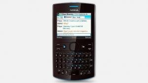 Nokia Asha 205 Dual Sim CYAN_DARK ROSE