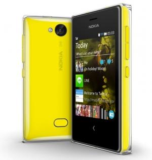 Nokia Asha 503 Yellow