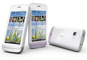 Nokia C5-03 WHITE/LILAC
