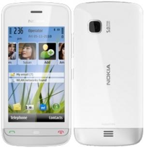 Nokia C5-03 WHITE/ALUM GRAY