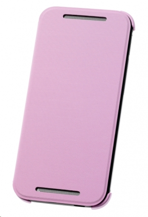 HTC Flip Case HC V970 for HTC One M8 Mini pink