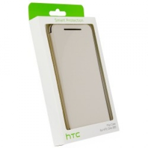 HTC Flip Case HC V980 for HTC E8 white