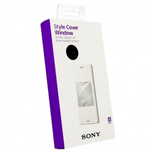 Sony Style Cover SCR24 for Xperia Z3 black