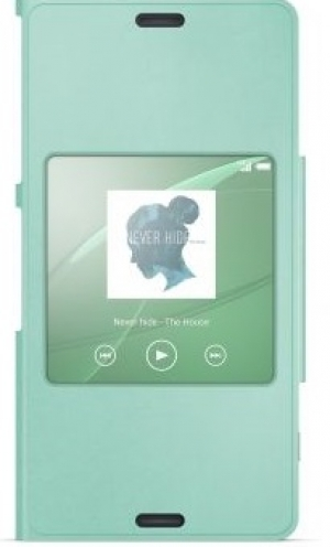Sony Style Cover SCR26 Xperia Z3 Compact green