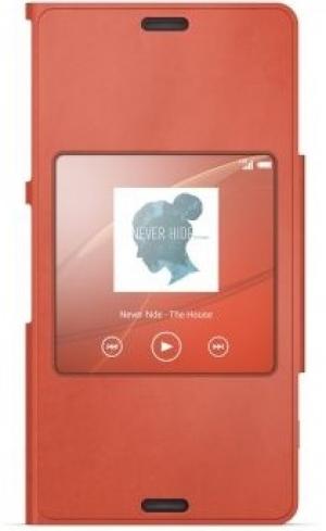 Sony Style Cover SCR26 Xperia Z3 Compact orange