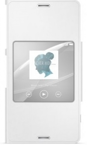 Sony Style Cover SCR26 Xperia Z3 Compact white