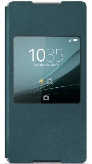 Sony Style Cover SCR30 Xperia Z3+ aqua green