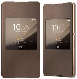 Sony Style Cover SCR30 Xperia Z3+ copper