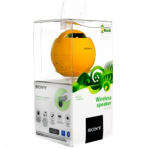 Sony Wireless Speaker SRS-BTV5 yellow