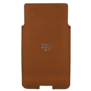 BlackBerry Leather Case за Priv brown