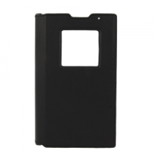 BlackBerry Leather Flip Case за Priv black