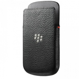 BlackBerry Leather Case for Q10 black