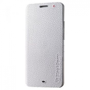 BlackBerry Leather Flip Case for Z30 white