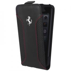FLIP Ferrari за iPhone 5/5S black
