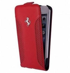 FLIP Ferrari F12 за iPhone 5/5S red