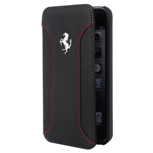 Ferrari F12 Series Book-Flip-Case iPhone 5/5S blаck