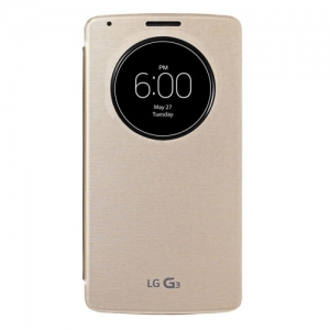 LG Flip Case Quick Circle G3 gold