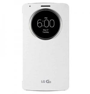 LG Flip Case Quick Circle G3 white